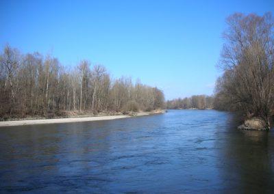 Reka Mura v Melincih